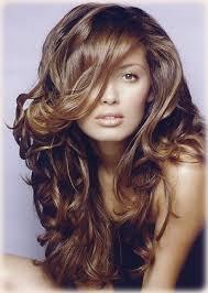 long hair curl