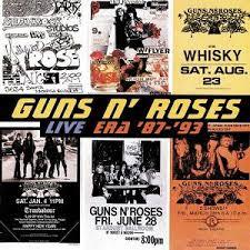 guns and roses live era