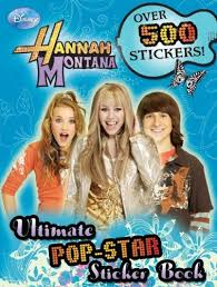 hannah montana sticker books