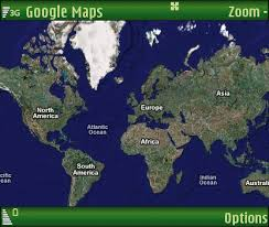 google map world