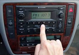 cd player in car