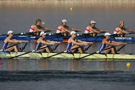 rowing sculls