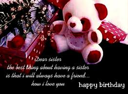 birthday thoughts for sister