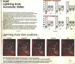 hurst lightning rod shifters