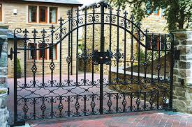iron wrought gate