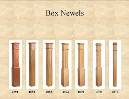 box newels