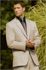 cream colored suits