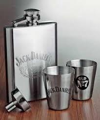 jack daniels whiskey flask