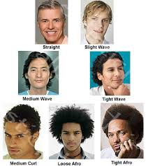men frizzy hair