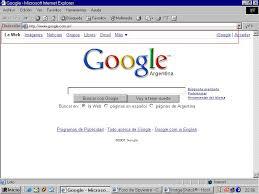 la pagina de google