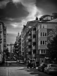 black and white digital photo