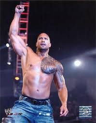 pictures of the rock wwe