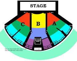 gorge amphitheatre seating