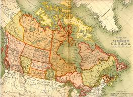 canadian geography map