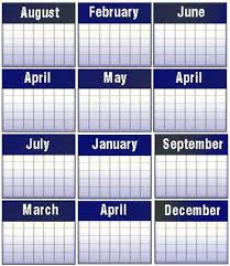 calendar weeks