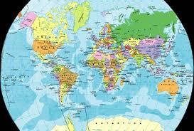 planisferio del mundo