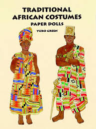 african paper dolls