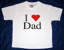 i love dad shirt