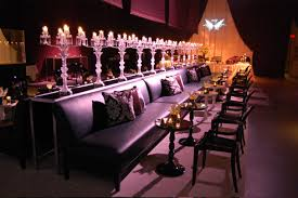 glass candelabras