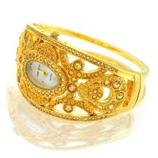 gold bangle watches