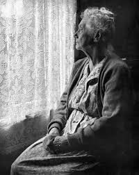 elderly black woman