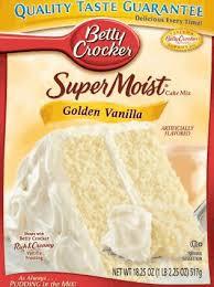 betty crocker chocolate cake mix