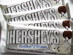 hershey cookies and cream