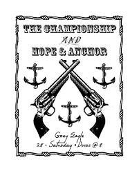 band flyer design