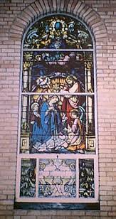 old stain glass windows