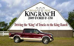 2009 ford f150 king ranch