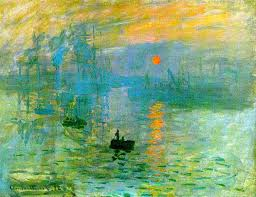 impression sunrise by monet