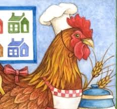 kitchen rooster