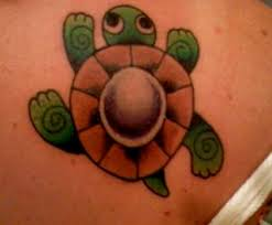 cute turtle tattoo