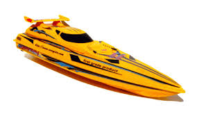 remote controlled speedboat