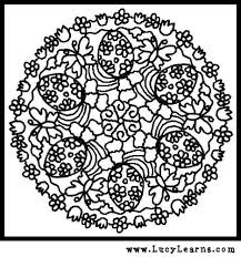 free printable easy fall coloring pages