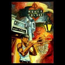 house of blues art