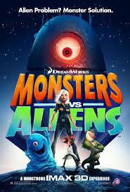 monsters vs aliens imax