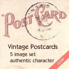old vintage postcards