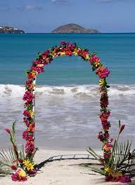 tropical wedding flower
