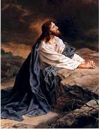 god praying