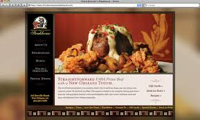 restaurants website