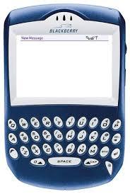blackberry text message
