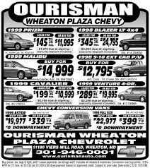newspaper car ads
