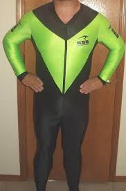 lycra skin suit