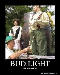 bud light poster