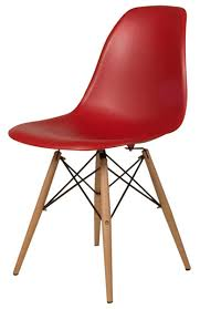 eames plastic chair dsw