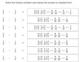 fraction sheets