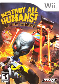 destroy all human wii