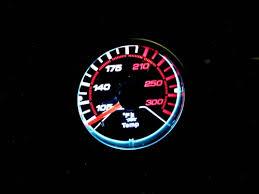 megan racing gauges