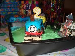 birthday cake train